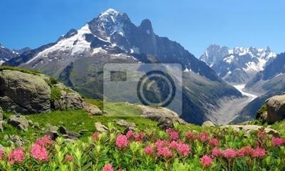 Widok Savoy Alps-Europe
