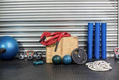 Obraz Widok sprzęt fitness