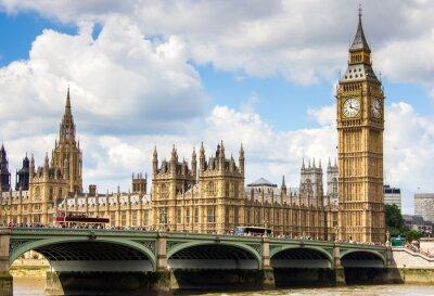 Obraz Widok Westminster