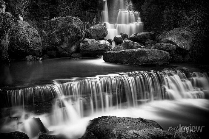 Obraz Widok wodospadu Fervença pobliżu Sintra, Portugalia