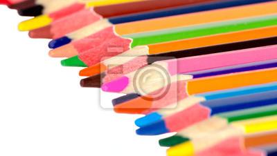 Wiele kolorowe kredki