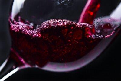 Obraz wino czerwone