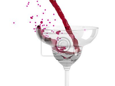 Wino wlewając