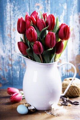 Obraz wiosenne tulipany