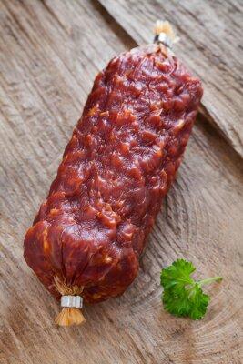 Obraz włoski salami
