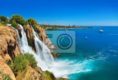 Wodospad Duden w Antalya, Turcja