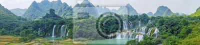 Obraz Wodospad Krajobrazowy
