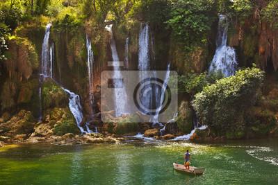 Wodospad Kravice w Bośni i Hercegowinie