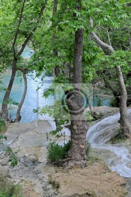 Wodospad Kursunlu - widok z góry