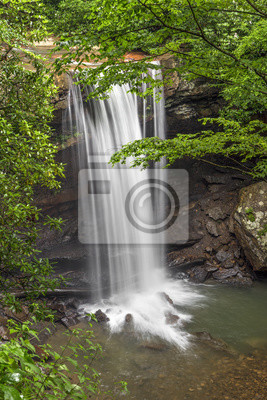Wodospad na Cucumber Run, Pensylwania