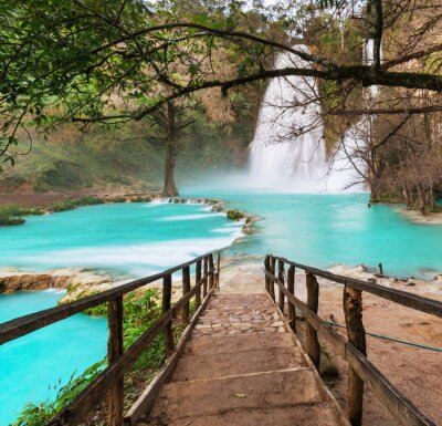 Obraz Wodospad w Meksyku