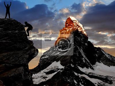 wspinaczki w Alpach szwajcarskich