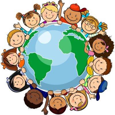 Obraz Wszyscy zjednoczeni w świecie