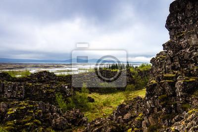 Wyspa Karge Felslandschaft