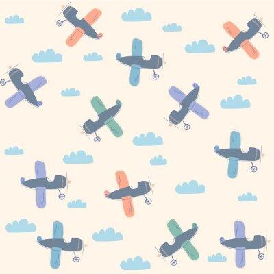 Obraz Wzór samolotu
