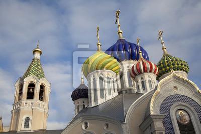 Купола  Храм св. Игоря Черниговского в Переделкино