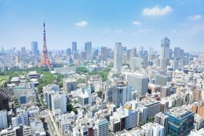 Obraz 東京 の 眺め