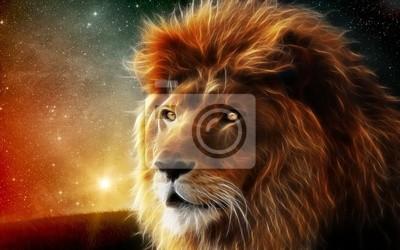 Obraz Загадочный лев