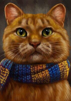 Obraz Рыжий кот