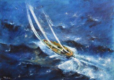 Obraz Yachting V