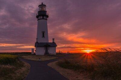 Obraz Yaquina Head lighthouse