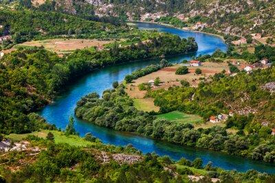 Obraz Zakolu rzeki