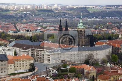 Zamek na Hradczanach, prezydent zamieszkania i Katedra Świętego Wita