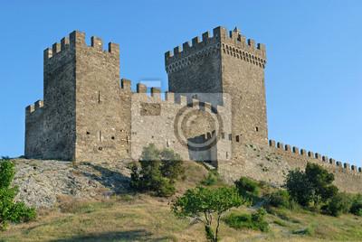Zamek Sudak, Krym