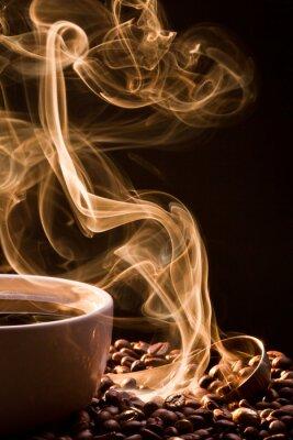 Obraz Zapach dobry kawiarnia z kubka