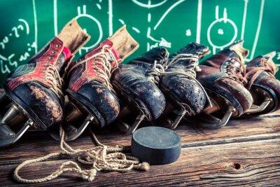 Obraz Zaplanuj do gry w meczach hokejowych