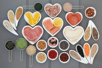 Obraz Zdrowie i Dieta Żywności