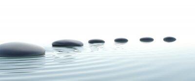 Obraz Zen ścieżka z kamieni w widescreen