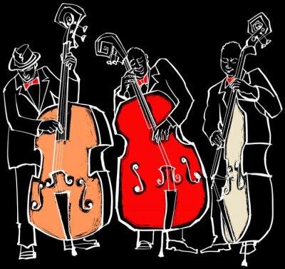 Obraz Zespół jazzowy