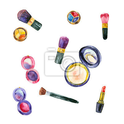 Zestaw kosmetyków akwarela