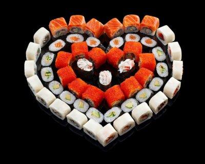 Obraz zestaw sushi