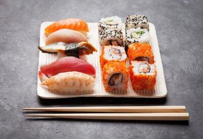 Obraz Zestaw sushi i maki