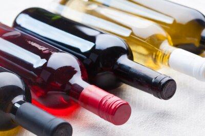 Obraz zestaw wina