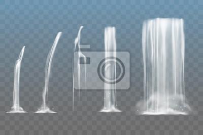 Obraz Zestaw wodospadów