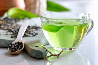 Obraz Zielona herbata spa