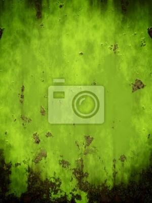 zielonym metalu