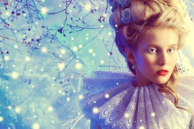 Obraz zima enchantress