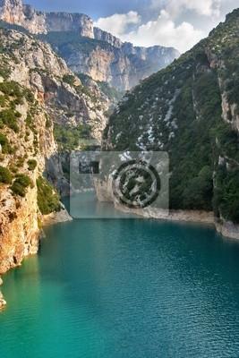 Znany kanion Verdon