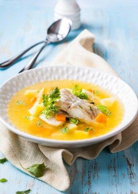 Obraz Zupa rybna