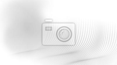 Abstrakcjonistyczny technologii kropki drutu ramy wieloboka geometrii perspektywy tło w półtonowym koloru temacie. Daje uczucie poruszających się fal