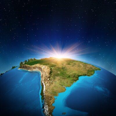 Plakat Ameryka Południowa