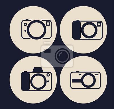 Aparat zestaw ikon