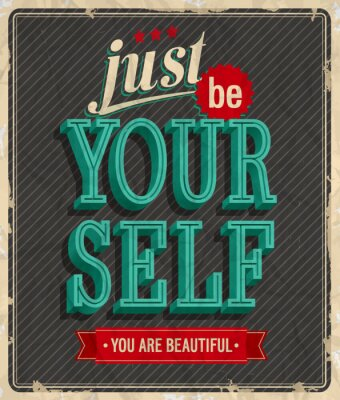 Plakat Archiwalne karty - Tylko Twój własny
