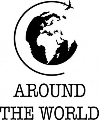Plakat Around the World
