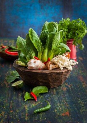 Plakat Asian Food Ingredients