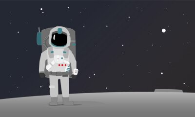 Plakat Astronauta